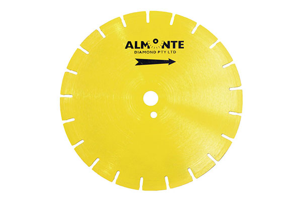 Yellow Core Saw Blade